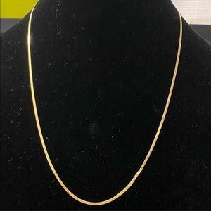Jewelry - 18K Solid Gold Herringbone Necklace
